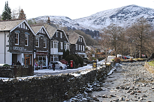Glenridding village - Ullswater - Lake District