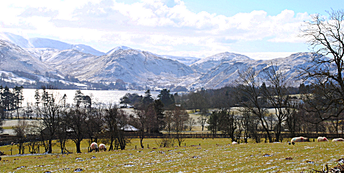 Ullswater Lake Howtown Martindale Watermillock Cumbria